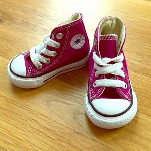 NWOT baby chuck taylor high tops